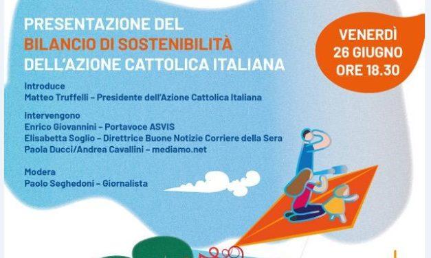Presentazione del Bilancio di Sostenibilità dell'Azione Cattolica Italiana