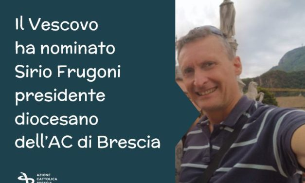 Sirio Frugoni nuovo presidente