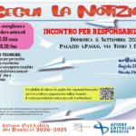 INCONTRO PER RESPONSABILI ACR 6/9/2020
