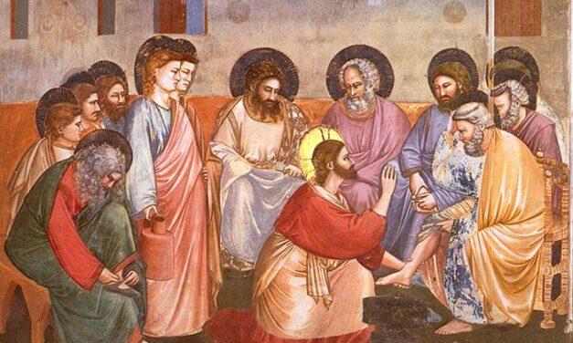 """Ritiro diffuso – Adulti 4 – Leggiamo l'affresco della """"Lavanda dei piedi"""" di Giotto"""