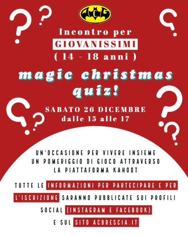 Magic Christmas Quiz