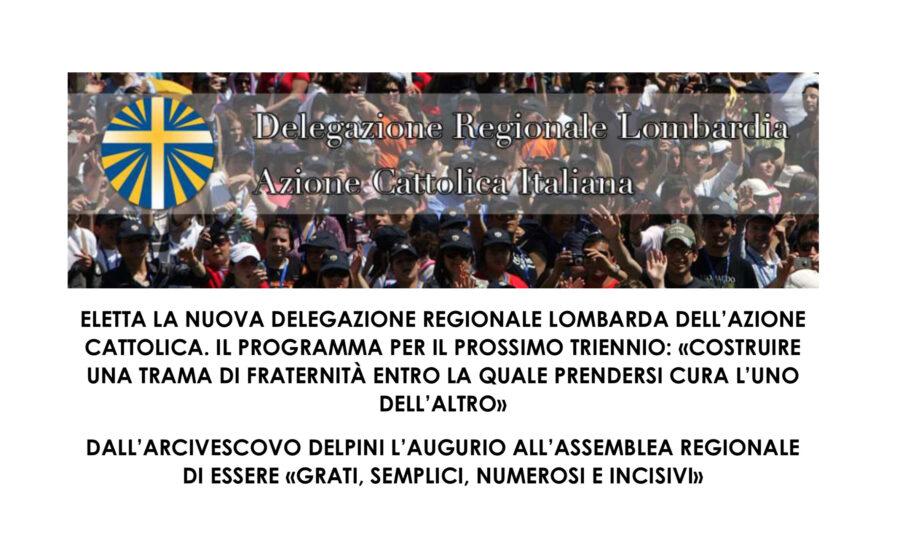 Assemblea regionale Azione Cattolica – Comunicato stampa