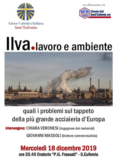 Ilva – Lavoro e Ambiente