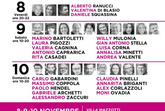 L'editrice Ave alla Fiera della Microeditoria a villa Mazzotti di Chiari (8-9-10 novembre)