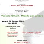 """Presentazione libro """"Teresio Olivelli. Ribelle per amore"""""""
