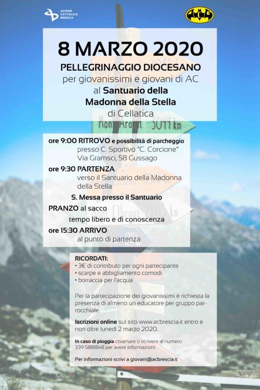 ANNULLATO – PELLEGRINAGGIO DIOCESANO GIOVANISSIMI E GIOVANI QUARESIMA 2020