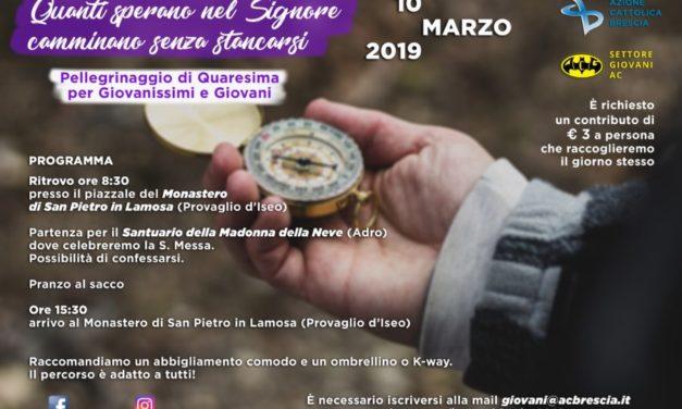 Pellegrinaggio di Quaresima – 10 Marzo 2019