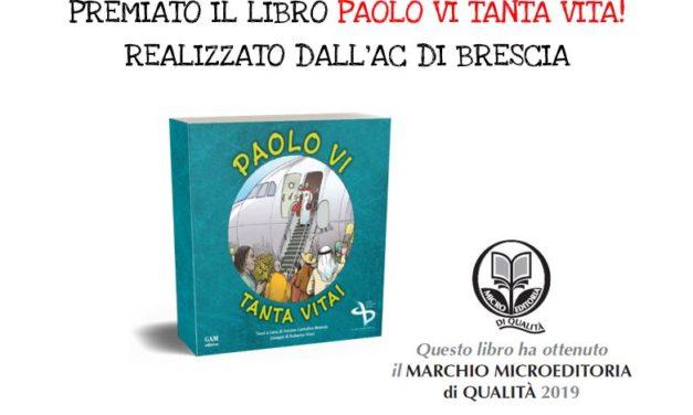 """Premiato il libro """"Paolo VI tanta vita!"""""""
