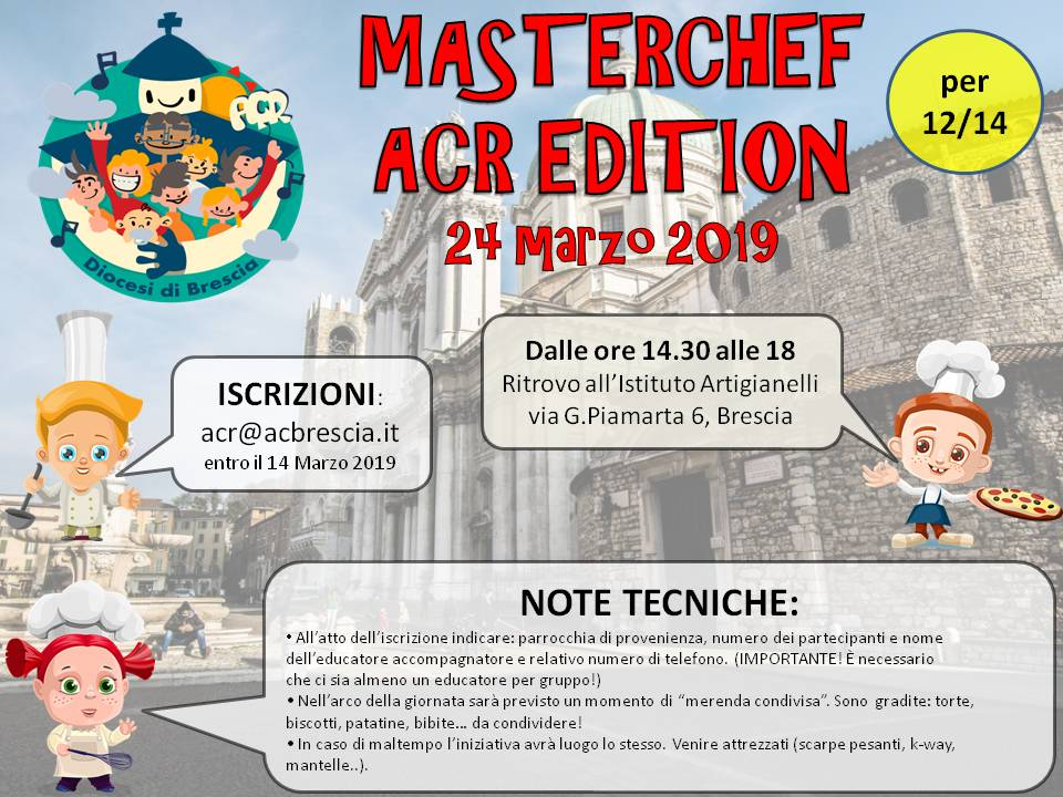 Masterchef ACR Edition – 12/14