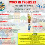 WORK IN PROGRESS… dalla teoria alla pratica