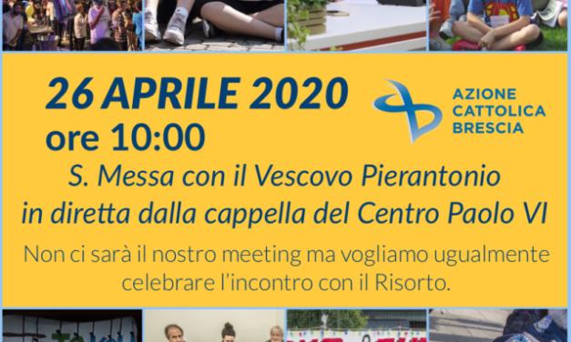26/4/2020 S. Messa con il Vescovo Pierantonio
