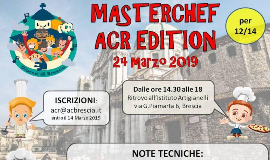 MASTERCHEF ACR EDITION – 12/14