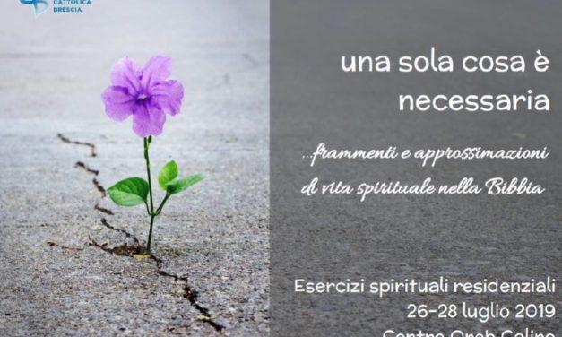 Esercizi spirituali residenziali