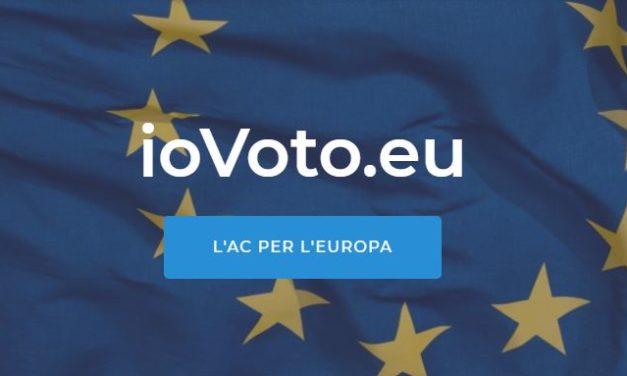 iovoto.eu – L'AC per l'Europa