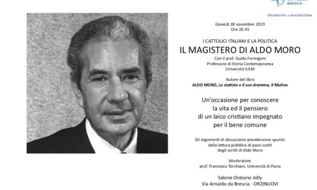 Il magistero di Aldo Moro