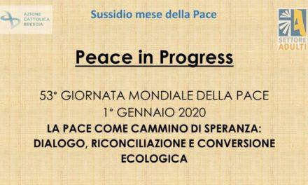 Sussidio Adulti mese della pace