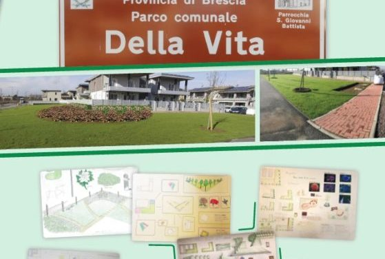 Castegnato-Inaugurazione Parco della Vita