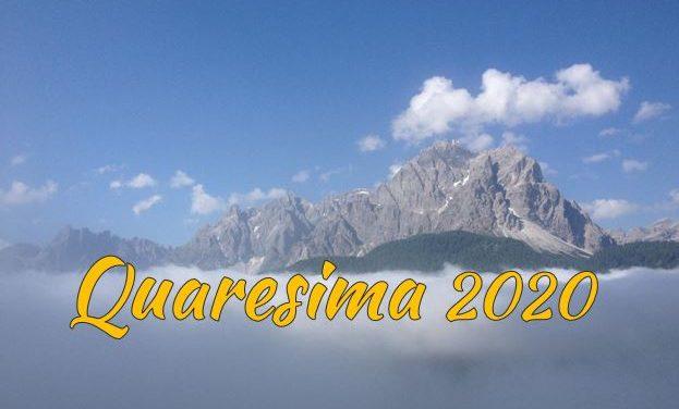 Tutte le nostre proposte per vivere insieme questo tempo – Quaresima 2020